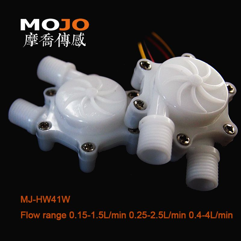 MJ-HW41W food grade POM material hitachi mass air flow sensor water flow meter compact and lightweight Flow meter