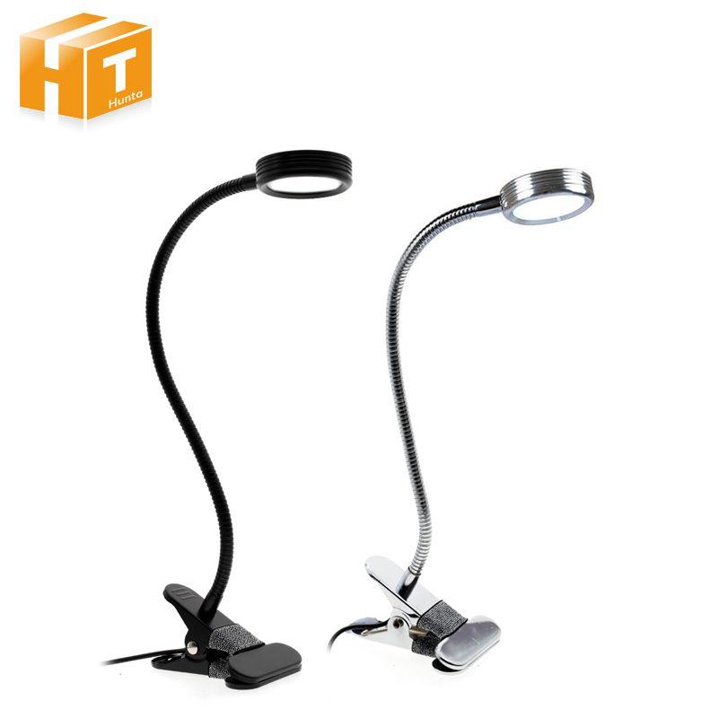 FÜHRTE Schreibtischlampe Mit Clip On/Off Schalter USB Wiederaufladbare Doppel Farbe Tischlampe Für Wohnzimmer Schlafzimmer Desktops licht