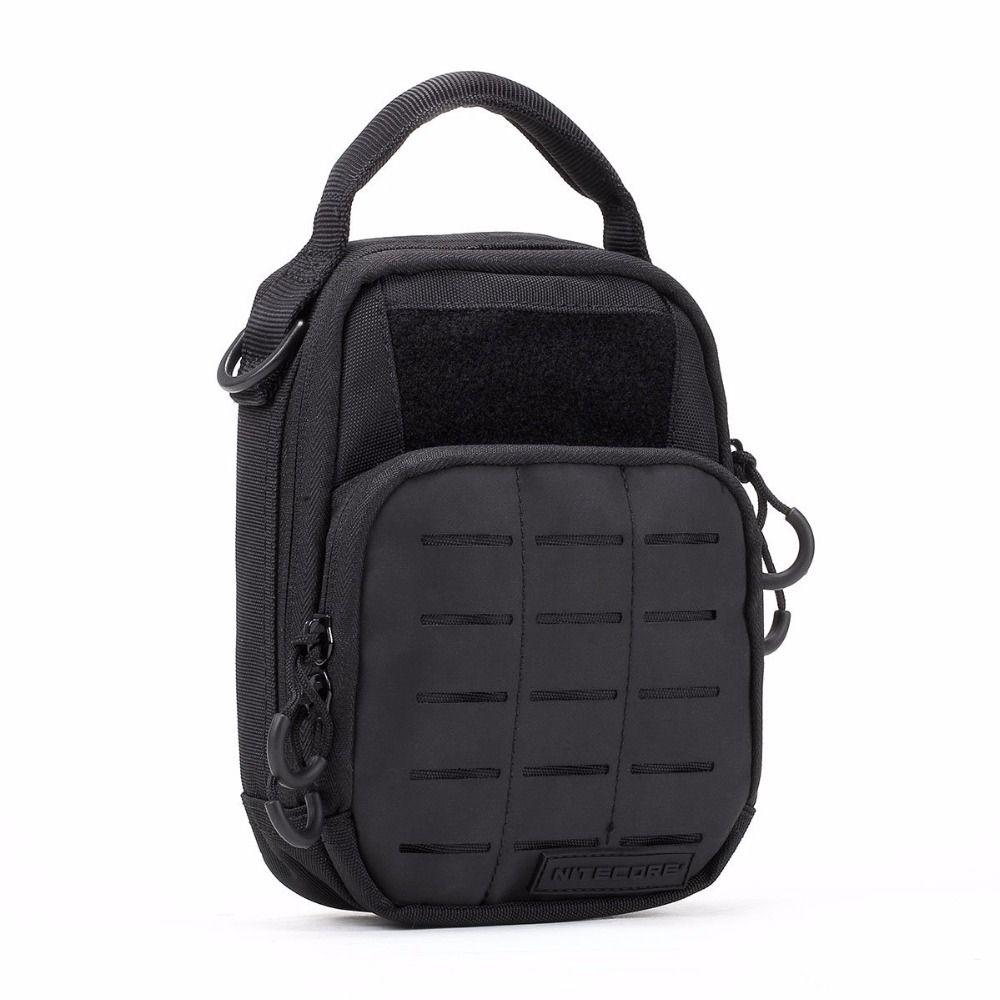 NITECORE Ferramentas Kit de paquet quotidien multifonctionnel pour l'emballage d'outils de voyage en plein air NUP10 NUP20 NDP10 NDP20 sac à main 3 couleurs