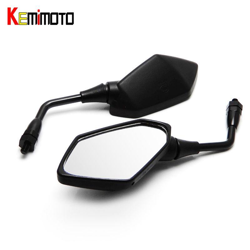KEMiMOTO Rearview Side Mirrors for kawasaki Z750 Z1000 2004 2005 2006 2007 2008 2009 2010 2011 Motorcycle Parts