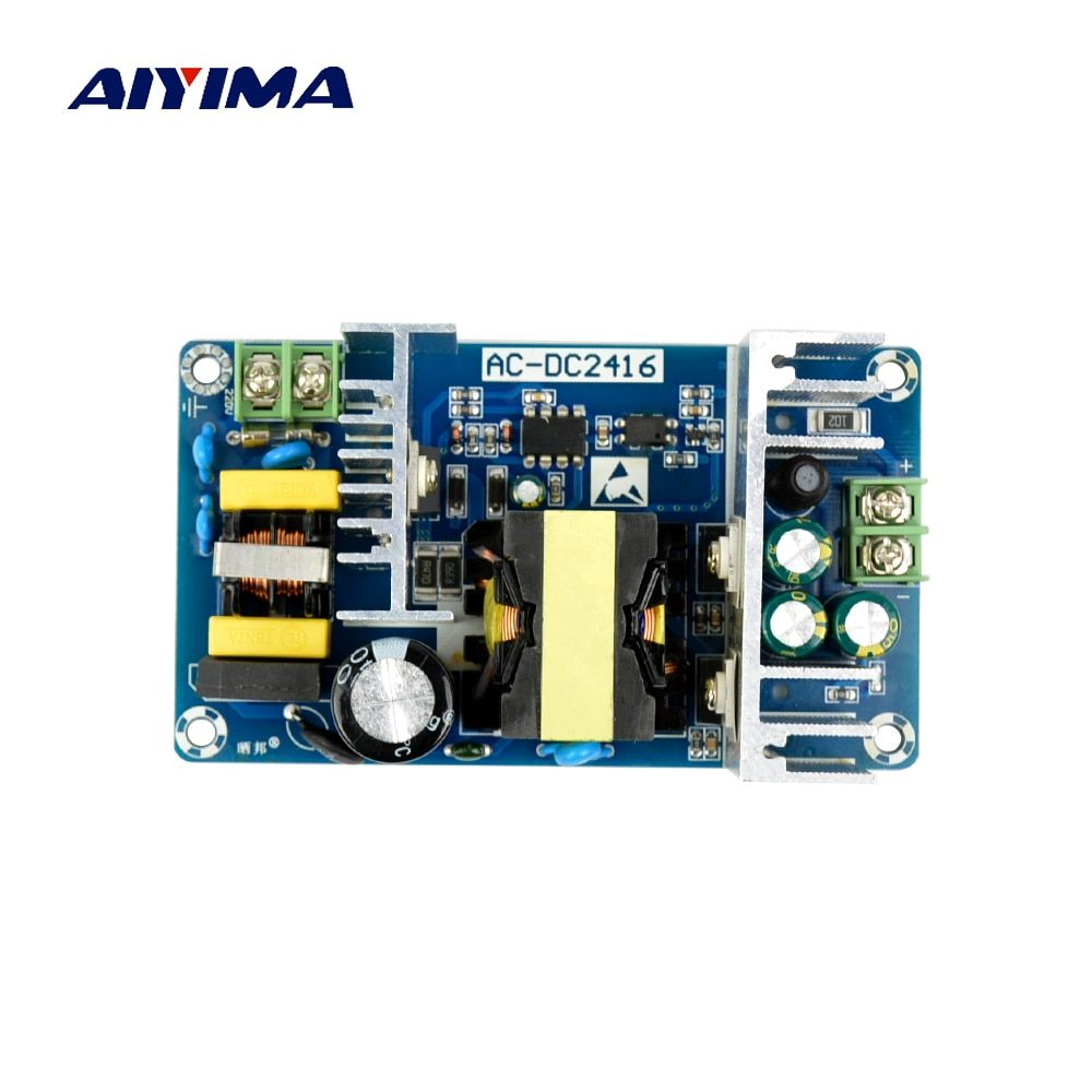 Aiyima 2017 All New AC-DC Power Supply Module AC 100-240V to DC 24V 6-9A Switching Power Supply Board