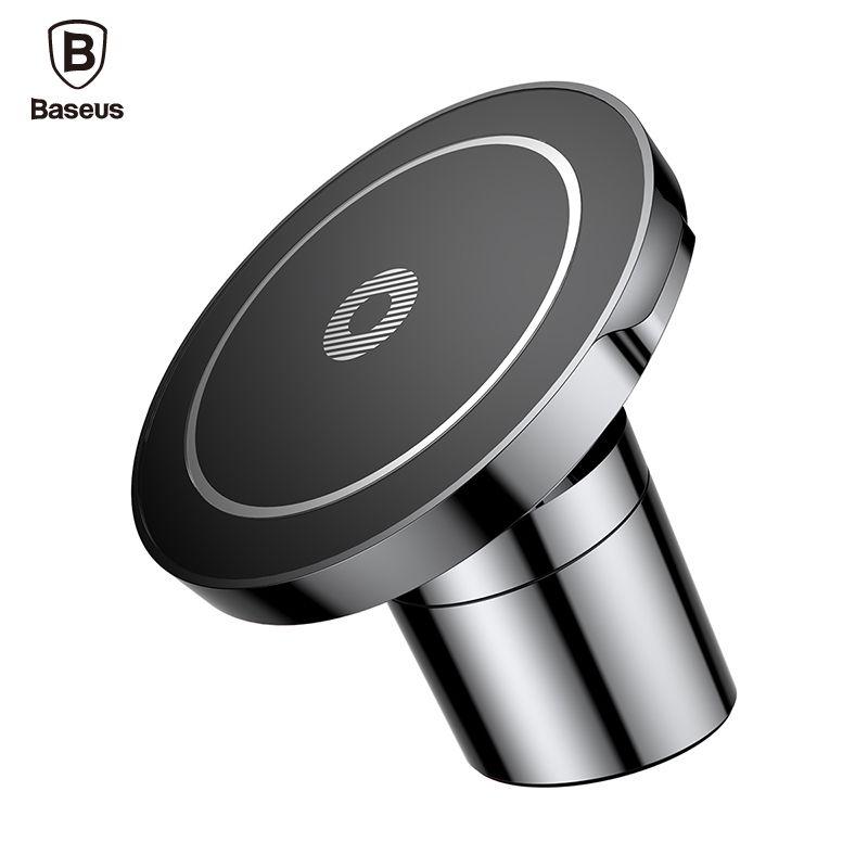 Baseus Voiture Montage Qi Sans Fil Chargeur Pour iPhone X 8 Samsung Note 8 S8 S7 Rapide Sans Fil De Charge Magnétique Support de Téléphone De Voiture Stand