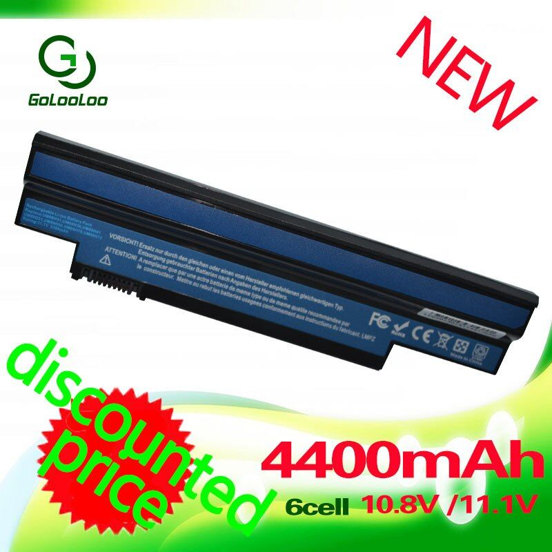 Golooloo batterie für acer aspire one 253 h 532 h 532g ao532h für emachines 350 em350 nav51 nav50 um09h31 um09h41 um09g31 um09h75