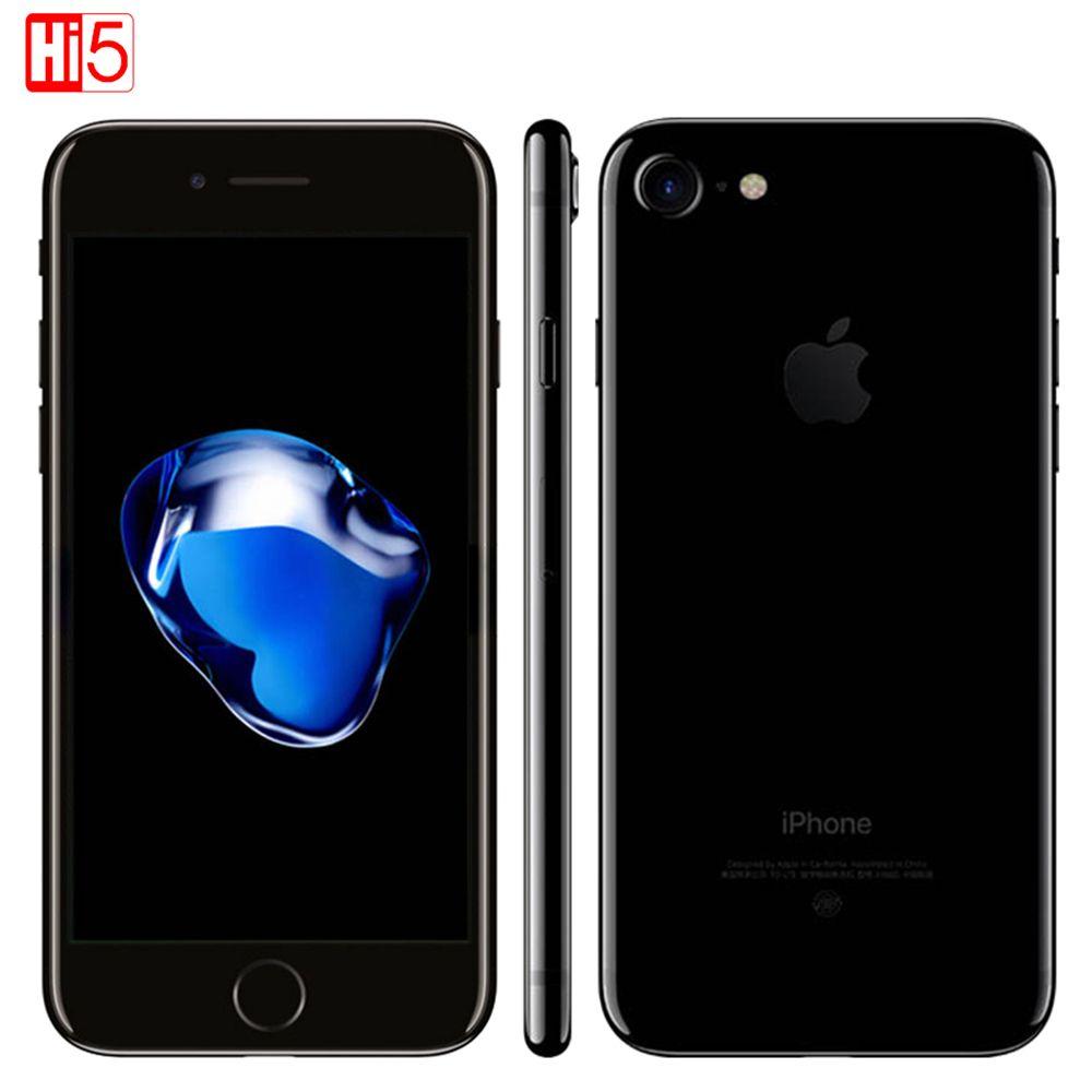 Entsperrt Apple iPhone 7 2 GB RAM 32B/128 GB/256 GB ROM IOS 10 LTE 12.0MP Kamera Quad-Core Fingerabdruck Original smartphone iphone7