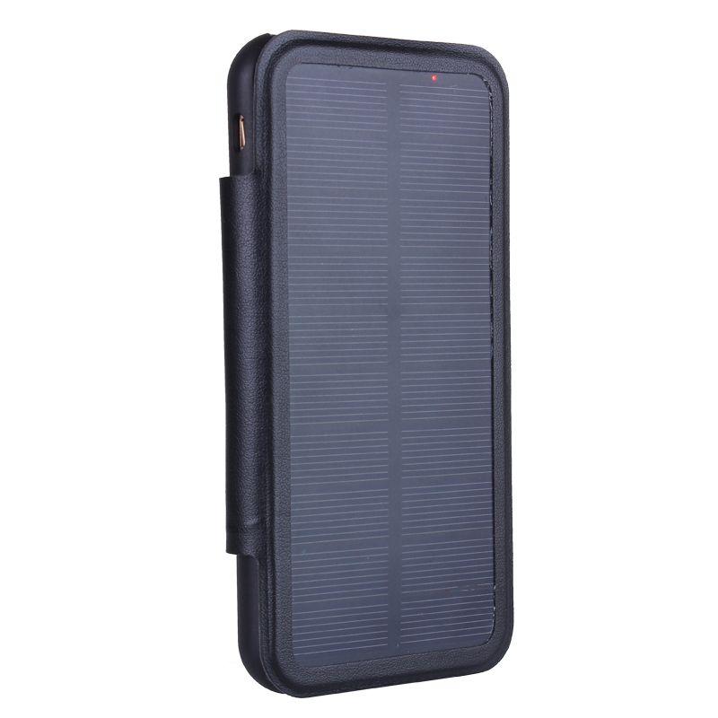 5000 mah Solaire Externe Puissance Chargeur Cas Pour Iphone 6 Plus/6 s Plus/7 Plus 3000 mah batterie Chargeur Cas Pour iPhone 6/6 s/