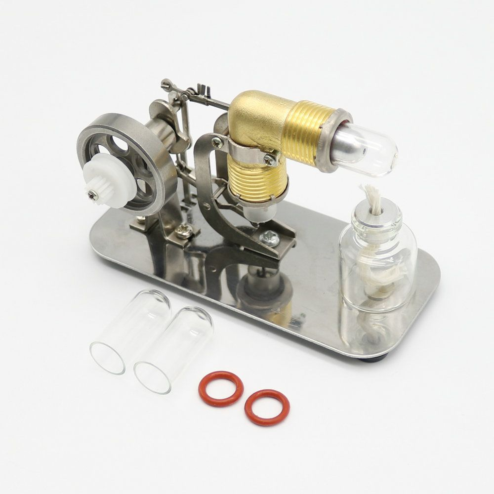 Mini Hot Air Stirling Engine Motor Model Science & Discovery Toys Educational Toy Kits Free shipping