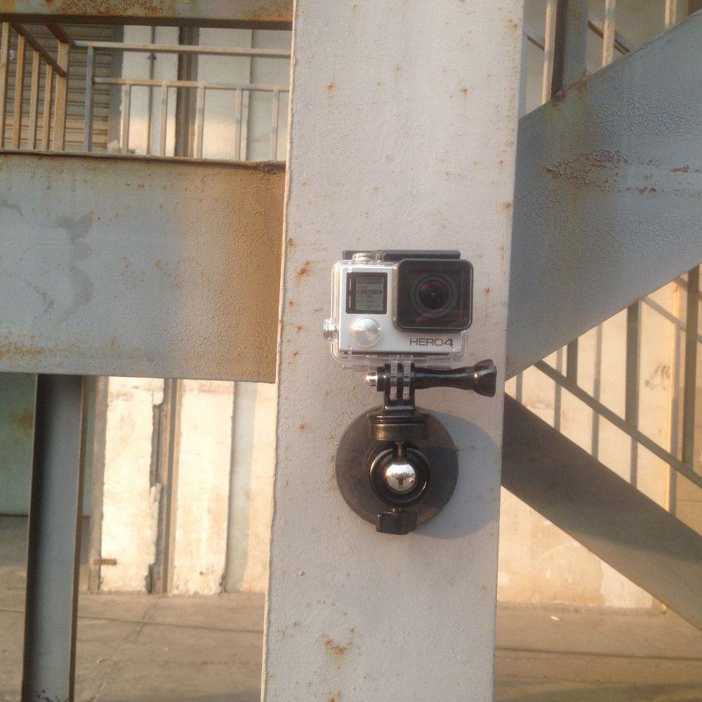 Magnétique Voiture Ventouse Trépied Titulaire rotule pour Gopro, SJCAM, Xiao Yi, pour Sony Camera Action et DSLR, Smartphone