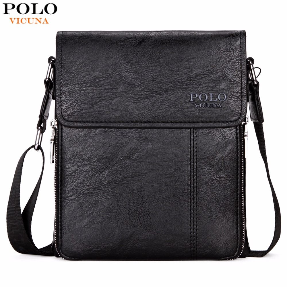 VICUNA POLO Brand Business Men Shoulder Bag Promotion Casual Brand Man bag Leather Messenger Bags Crossbody Sling Bag Hot <font><b>Sell</b></font>