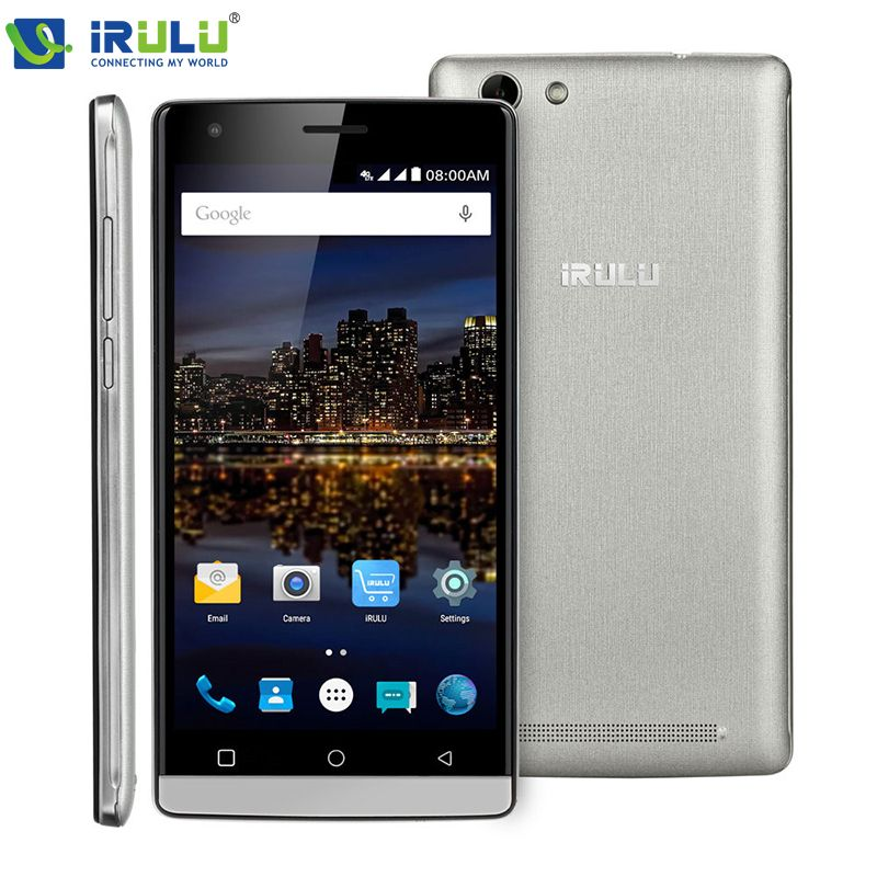 iRULU Victory V4 MSM8909 Quad Core 4G FDD LTE 5.0 inch Ultra-durable Gorilla Glass 3 Screen Fast Charge Android 5.1 Smart Phone