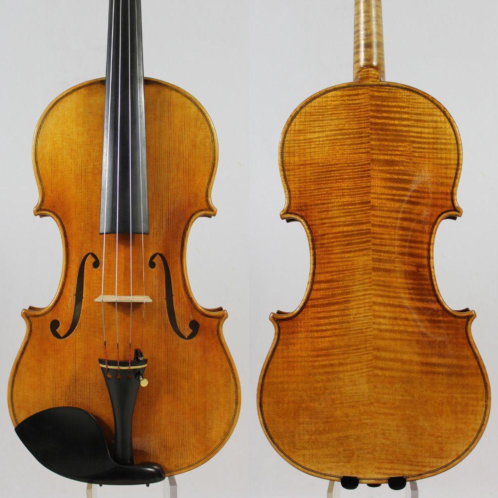 Copy Guarnieri 'del Gesu' Violin #182 Professional Violin Musical Instrument+Case, Bow,Rosin,Free Shipping!Aubert Bridge!