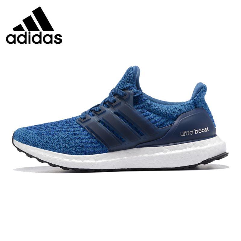 Adidas UltraBOOST männer Laufschuhe, Original Sport Im Freien Turnschuhe Schuhe, Blau, Atmungs Leichte BA8844