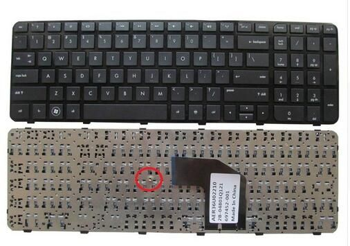 US Keyboard for HP Pavilion G6 G6-2000 G6Z-2000 g6-2100 G6-2163sr AER36Q02310 R36 English Black WITH FRAME