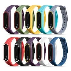Tonbux Strap For Xiaomi Mi Band 2 Replacement For Xiaomi Mi Band 2 Strap Waterproof Bracelet For Mi Band 2 Support Dropshipping