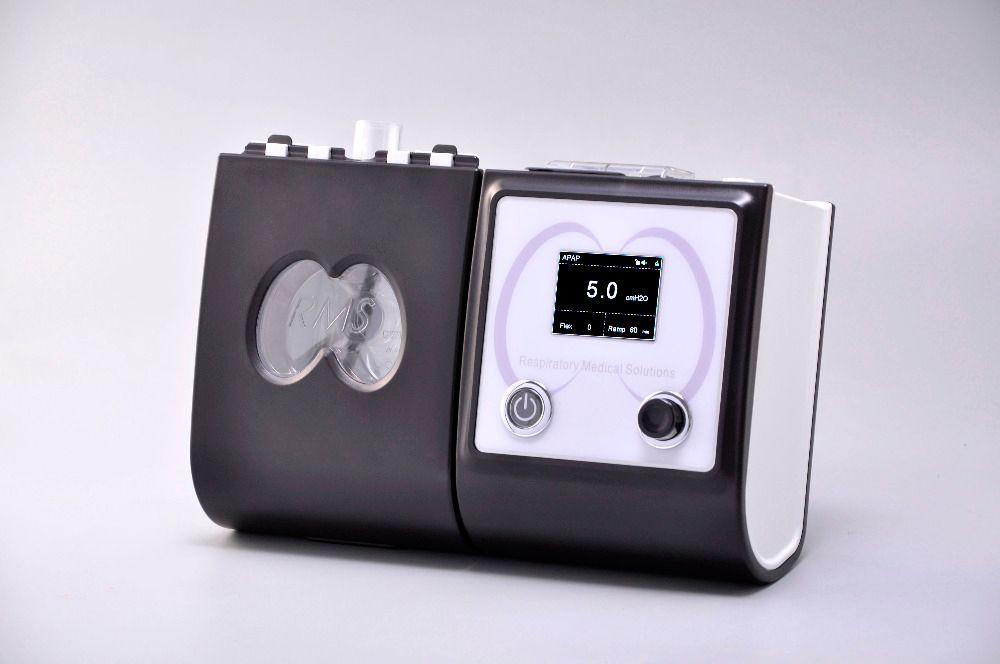 Auto CPAP Maschine Mit CPAP Maske Luftbefeuchter Filter Schlauch Tasche Atmen Gerät Tragbare Atemschutz Für Schlafapnoe Schnarchen APAP