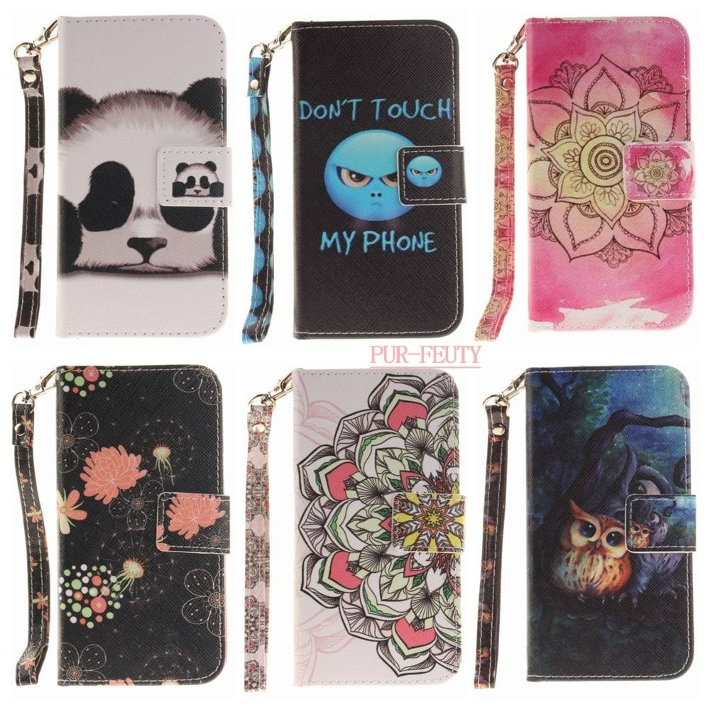 Phone Case For flip Huawei P8 Lite P8 mini ALE-UL00 ALE L21 L23 L04 L02 ALE-L21 ALE-L23 ALE-L04 ALE-L02 Silicon TPU Stand Covers