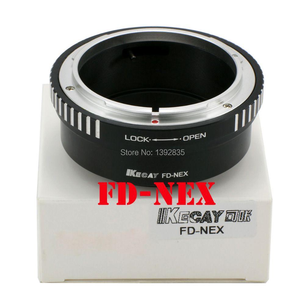 Kecay Hochpräzise FD-NEX Für Canon FD Objektiv Und für SONY NEX E Berg körper NEX3 NEX5 NEX-5N NEX-C3 NEX7 NEX-F3 NEX-5R NEX6