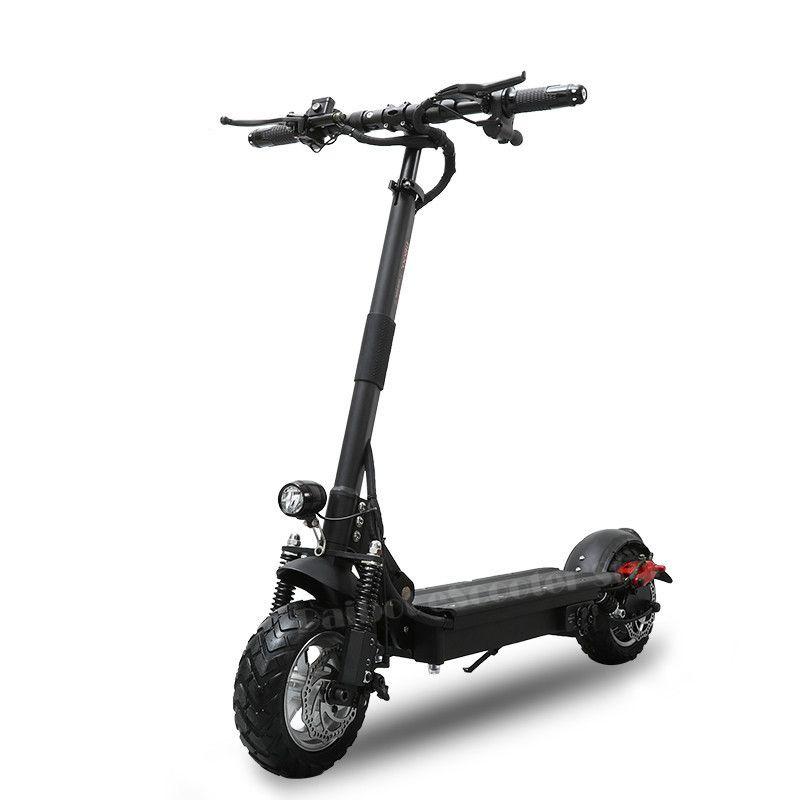 Leistungsstarke Elektrische Roller 1000 W 48 V Faltbare für erwachsene 52 V Klapp Tretroller mit sitz Zwei Rad Elektrische roller