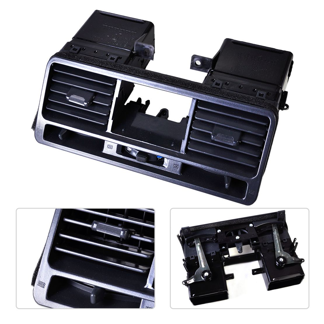 New Black Dashboard Air Vent Outlet Panel MR308038 MB775266 Fit for Mitsubishi Pajero Shogun Montero V31 V32 V33 1998 1999