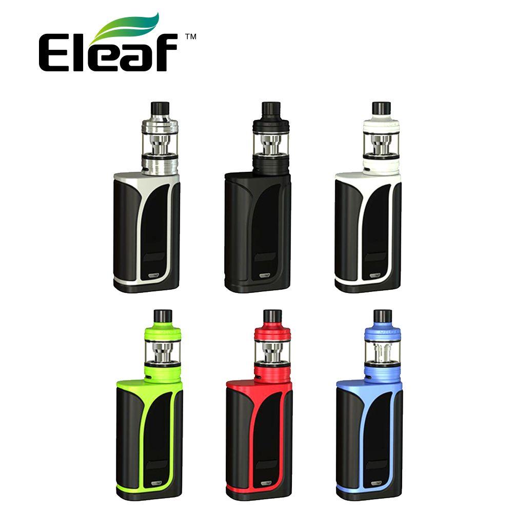 200W Original <font><b>Eleaf</b></font> IKuun I200 Vape Kit with MELO 4 Atomizer 4.5ml & Built In 4600mAh Battery Mod & EC2 Coils E-cigarette Kit