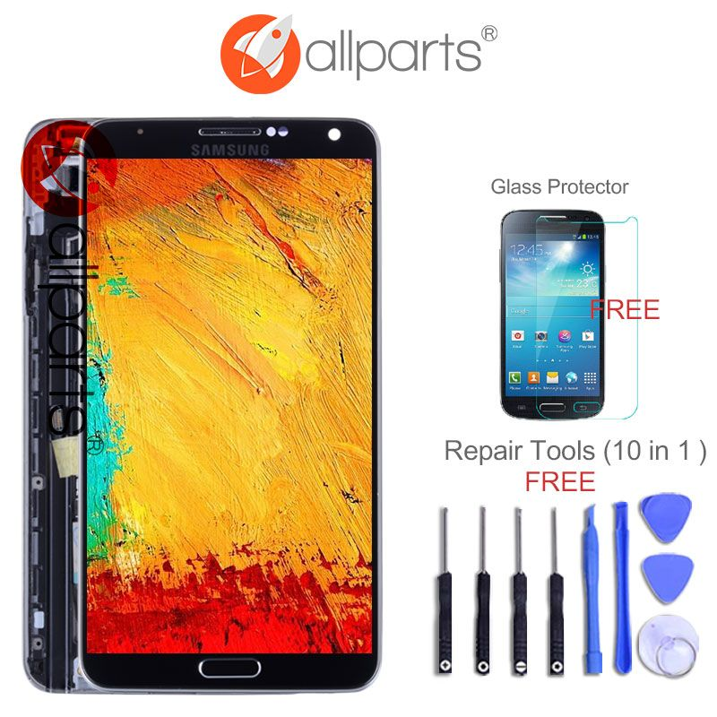 5.7'' LCD For Samsung Galaxy Note 3 LCD Display Note3 N9005 Touch Screen Digitizer with Frame N9002 N9006 N9000 LCD Replace