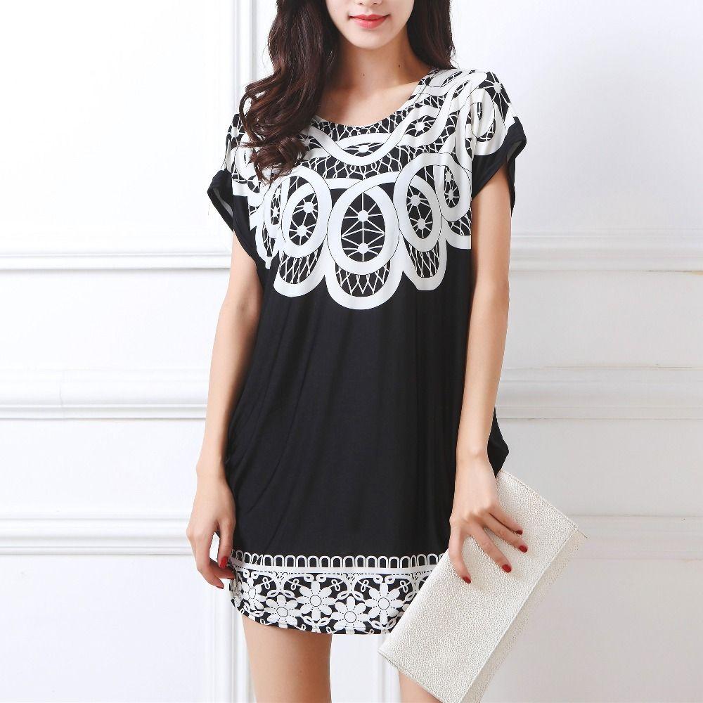 2019 printemps été haut pour femme grande taille femmes à manches courtes lâche tunique décontractée grand grand hauts t-shirts t-shirt 4xl 5xl