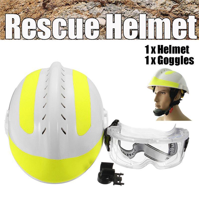 Rettungs Helm Für Feuer Kämpfer & Schutz Gläser Set China CAPF Sicherheit Protector F2 Arbeitsplatz Sicherheit Liefert Sicherheit Helm