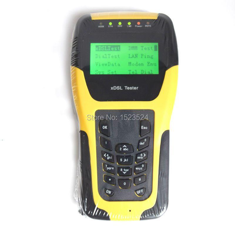 Dhl-freies Verschiffen ST332B Grundlegende VDSL VDSL2 Tester für xdsl line test und Wartung Werkzeuge (ADSL/ADSL2/ADSL2 +/VDSL2/READSL)