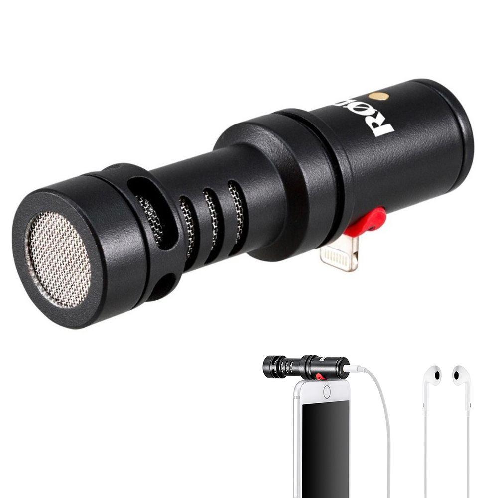 Professionelle RITT Videomic ME-L Mikrofon für blitz stecker jack für iPhone X 7 plus 7 8 Smartphone mikrofon