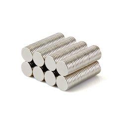 100 piezas 8x1mm fuerte imanes disco Dia. 8mm x 1mm N50 del arte del neodimio de la tierra rara imán