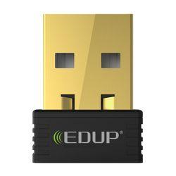 EDUP mini usb inalámbrico 150 mbps adaptador wifi receptor wi-fi 802.11n adaptador ethernet usb tarjeta de red de apoyo Windows Mac para PC