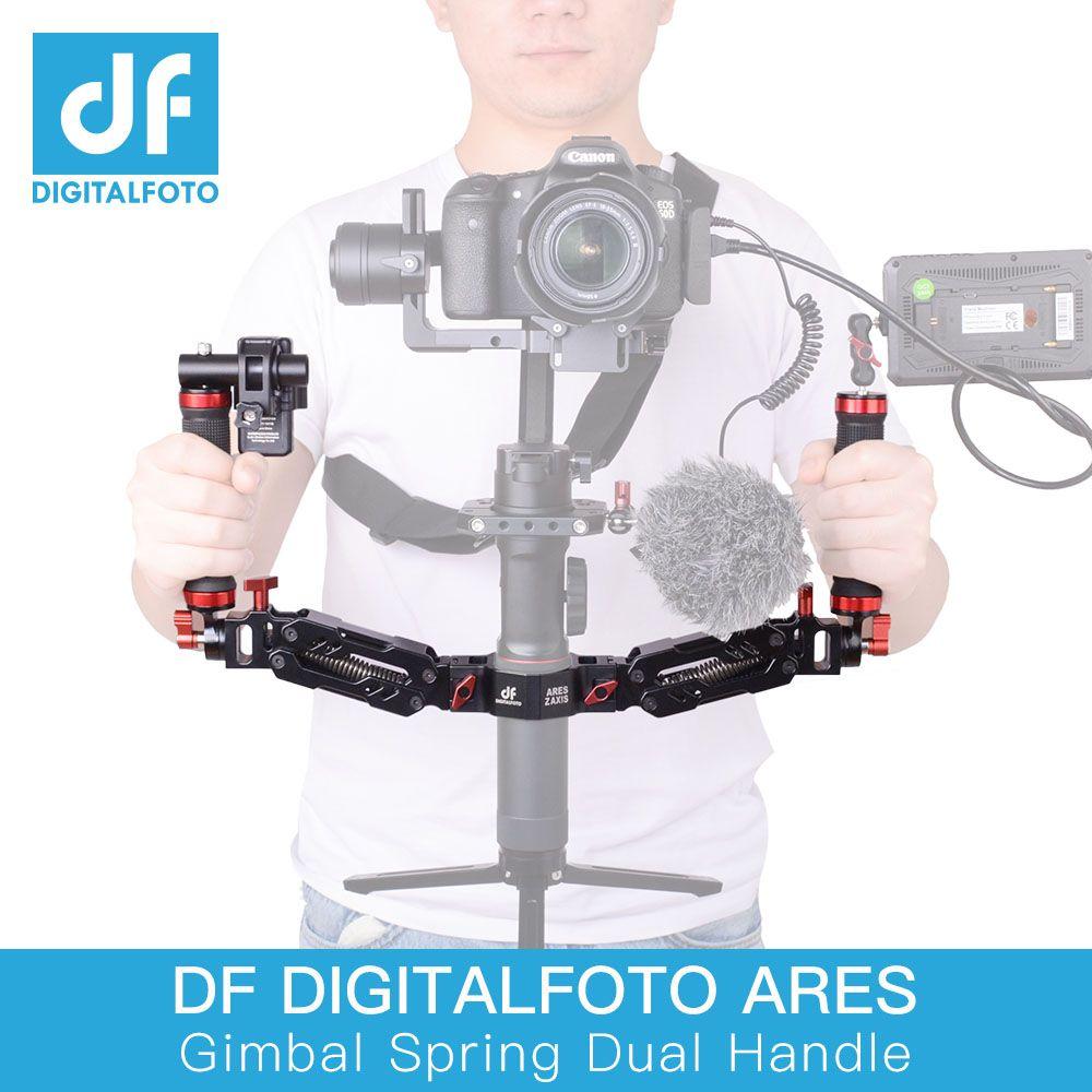 DF DIGITALFOTO Ares Z axis Alloy Aluminum Detachable Spring gimbal Dual Handle 5kg Loading for DJI Ronin S ZHIYUN Crane 2/Plus