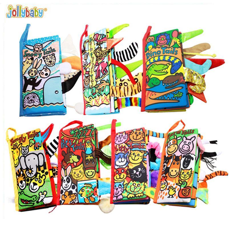 Милые Тканевые книги детские игрушки для ребенка развивающие игрушки Товары для сельскохозяйственных животных хвост игрушки Обувь для мал...