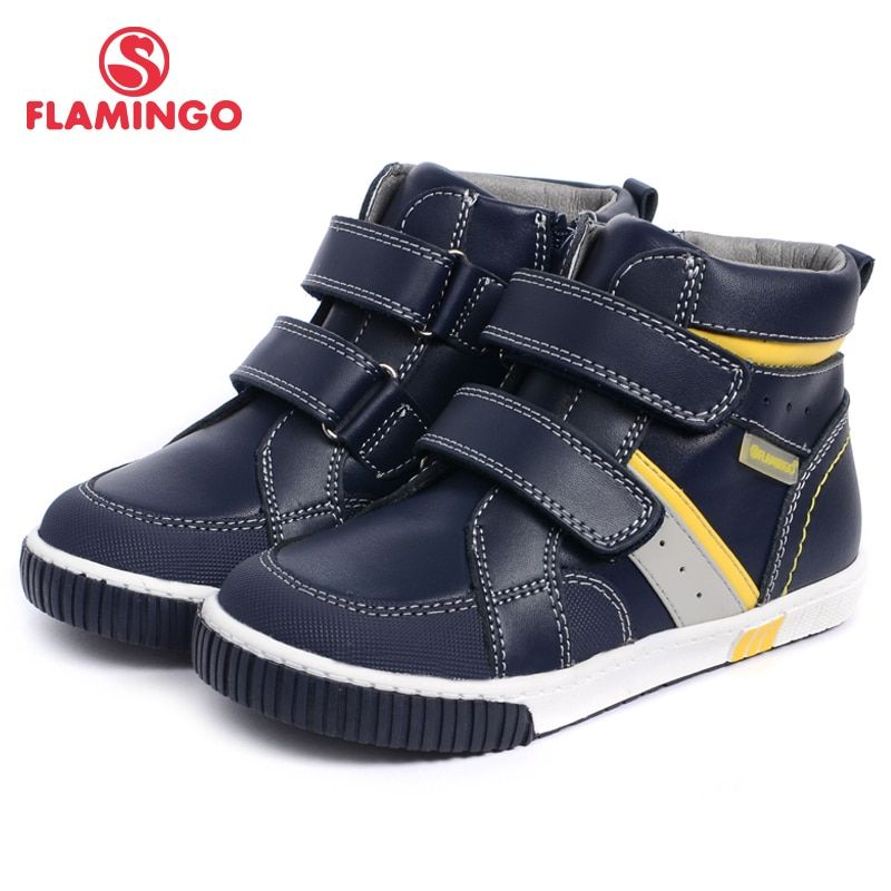 Фламинго Новинка 2017 коллекции осень/зима модные детские сапоги Высокое качество против скольжения детская обувь для мальчиков w6xy111/w6xy112