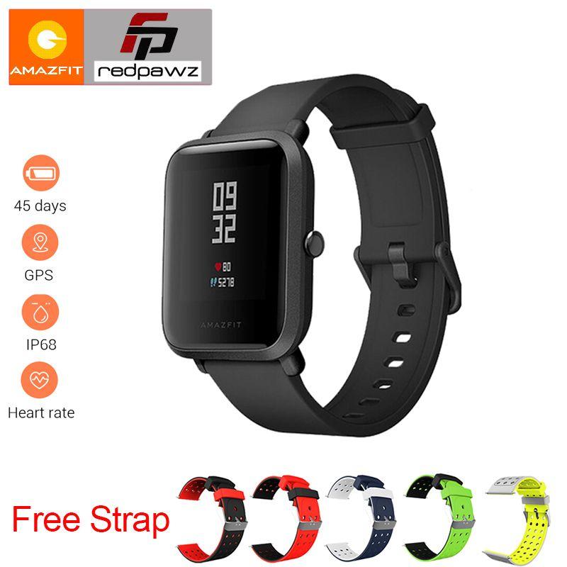 English Version Xiaomi HUAMI Amazfit Smart Watch Youth Bip BIT PACE Lite 32g ultra-light Screen 1.28