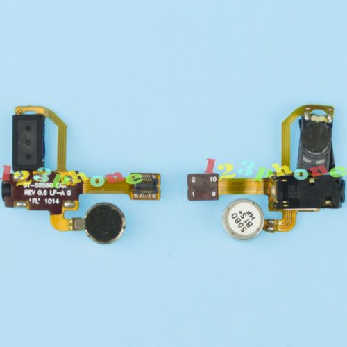 EARPIECE AUDIO JACK VIBRATOR FLEX CABLE FOR SAMSUNG MARVEL S5560