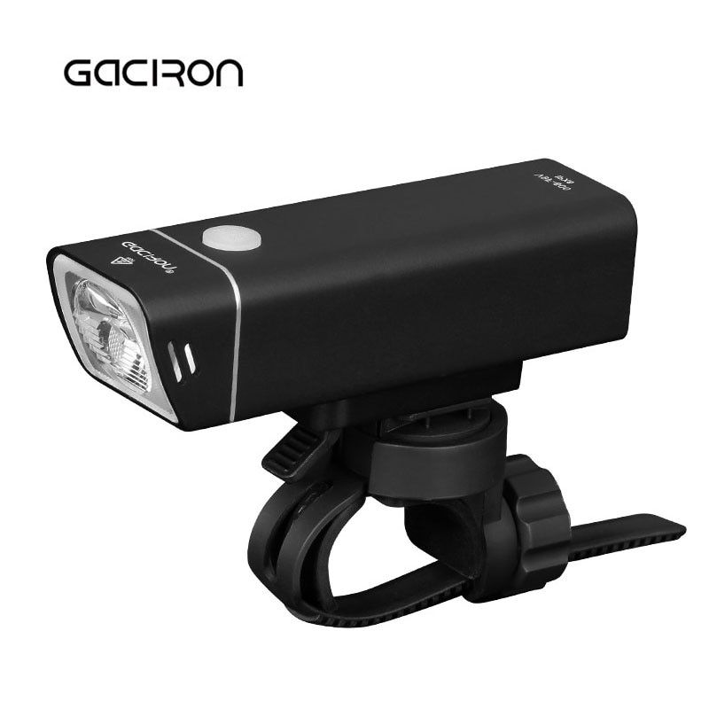 Gaciron 600 Lumens Cycling Bicycle Headlight with Wire Control IPX6 Waterproof MTB Road Bike Light USB Rechargeable Ultralight