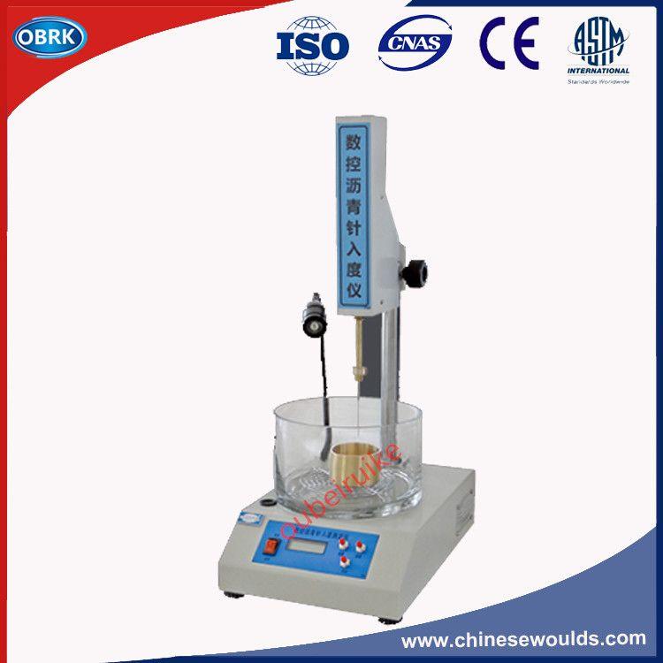 SZR-3 LCD Voraus Digitalanzeige Labor Asphalt Penetrometer, Asphalt Penetrationstest Instrument