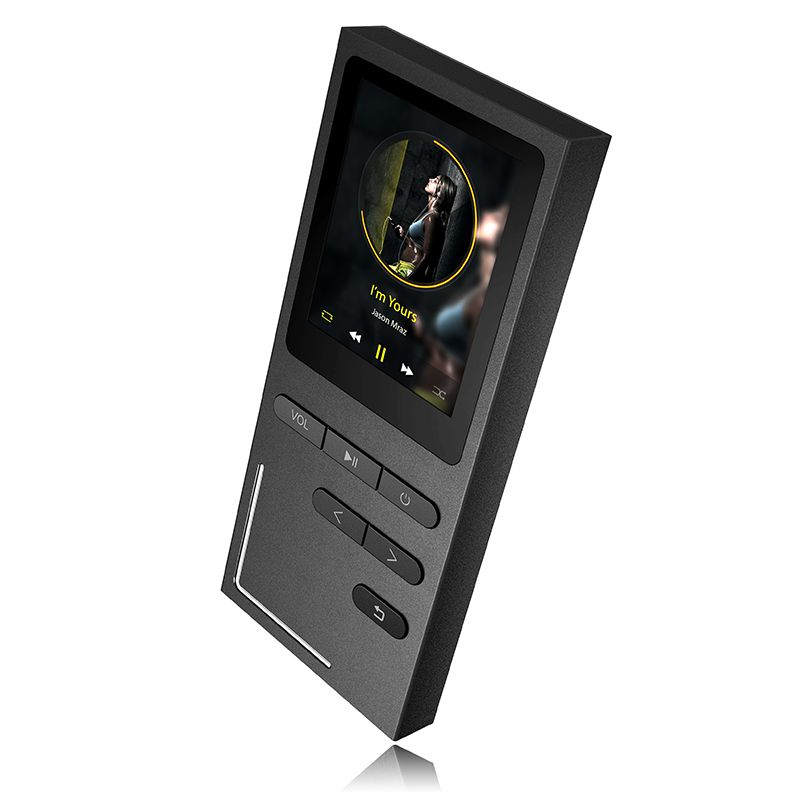 Original HiFi Metal MP3 Player built-in Speaker APE/FLAC/WAV High <font><b>Sound</b></font> Quality 8GB Entry-level Lossless Music Player with FM