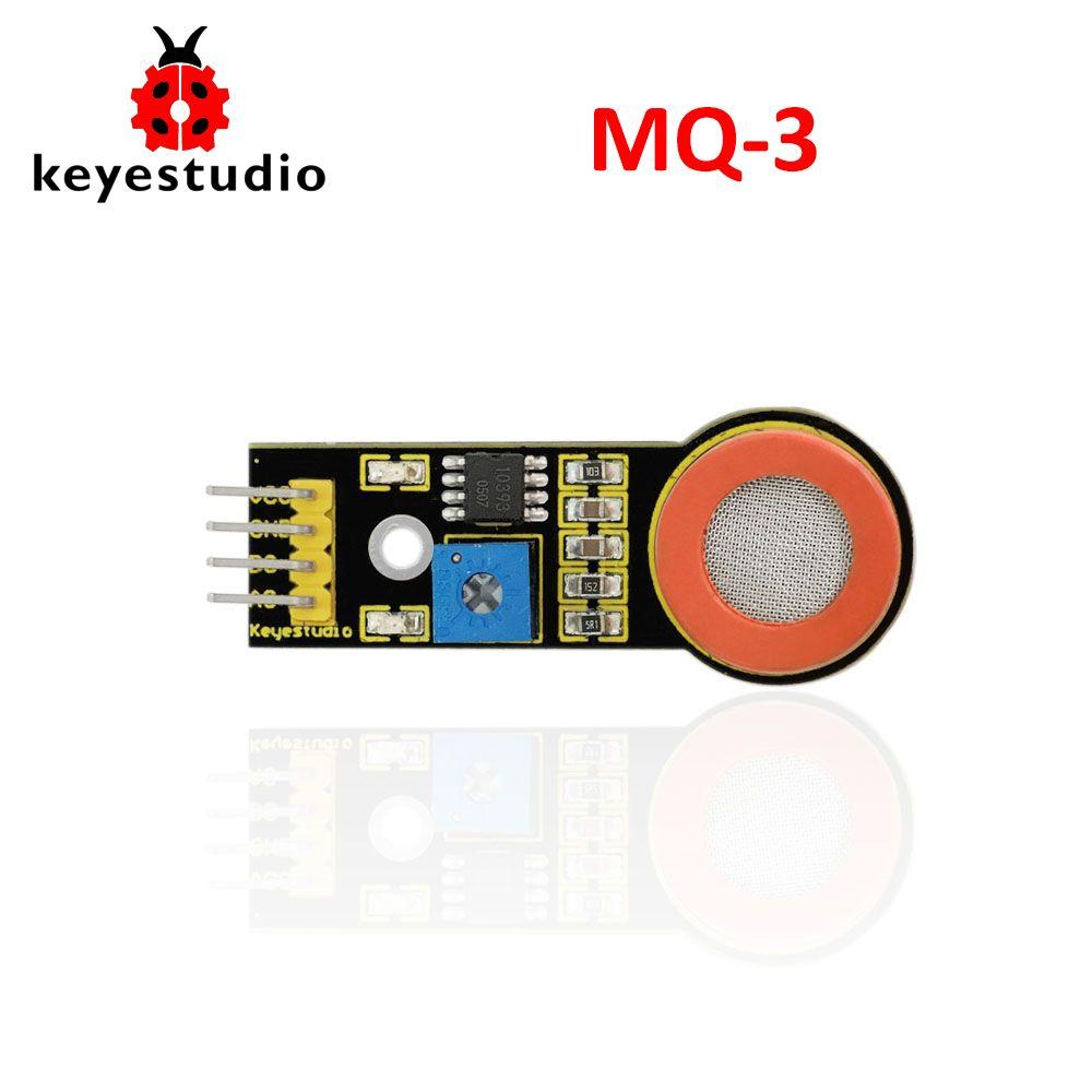 Freies verschiffen! Keyestudio MQ-3 Alkohol Ethanol Sensor Erkennung Modul für Arduino