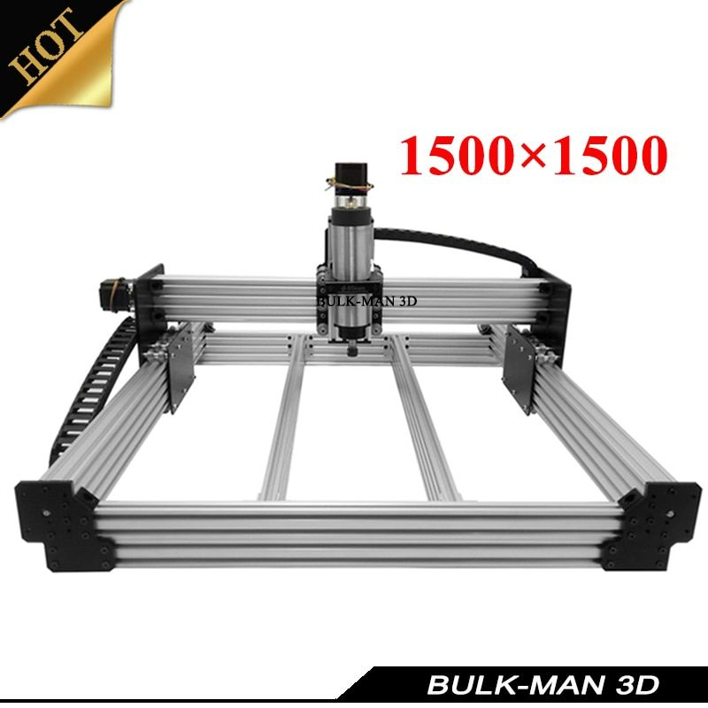 WorkBee CNC Router Complete Full Kit CNC Wood Engraving Machine with Electronic Combos ,Spindle VFD Inverter ,Controller