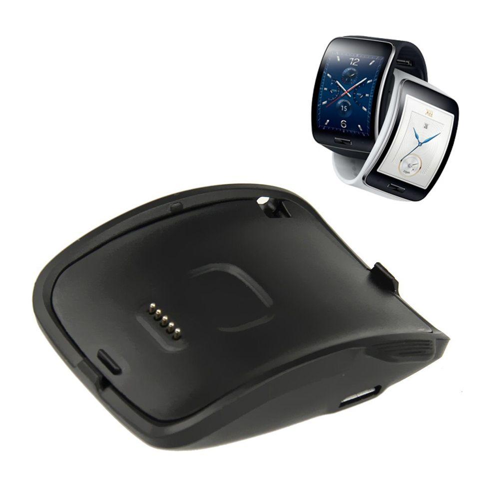 Портативный быстрой зарядки с USB кабель, зарядная док-станция Зарядное устройство Колыбели для Samsung Galaxy Шестерни s смарт-часы sm-r750