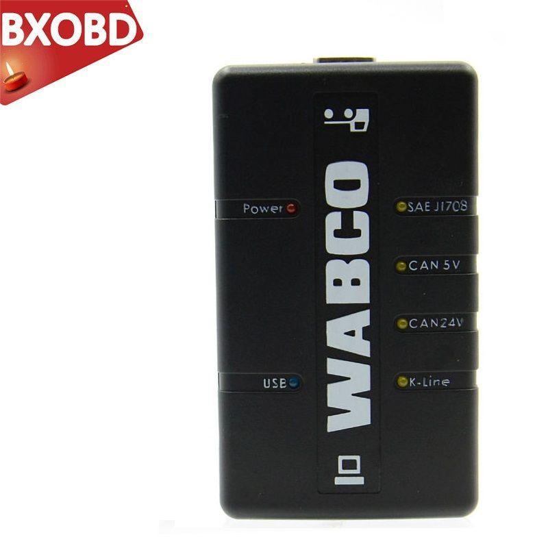 IN AKTIEN WABCO DIAGNOSE-KIT (WDI) WABCO Trailer und OBD2 Heavy Duty Diagnose Werkzeug WABCO Lkw Scanner
