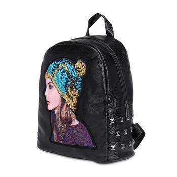 9154 P половина J Для мужчин рюкзак холст путешествия школа плеча компьютер альпинизмом функциональные сумки