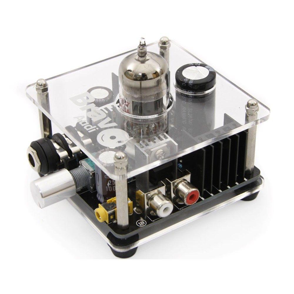 Bravo Audio V2 Ventil Klasse A 12AU7 Rohrkopfhörerverstärker