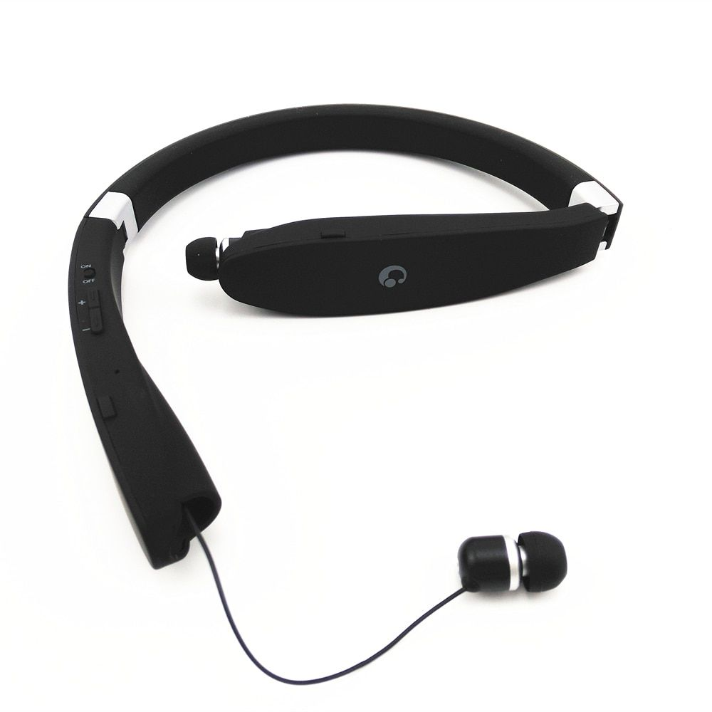 Suicen SX-991 Sports Bluetooth Headphones Retractable Foldable Neckband Wireless Headset Anti-lost In Ear Earphones Auriculars