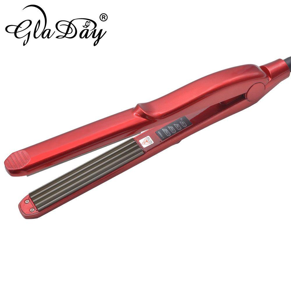 Nouveauté sertisseur de cheveux ondulant fer à lisser sertisseur de cheveux moelleux petites vagues bigoudis fers à friser outils de coiffage