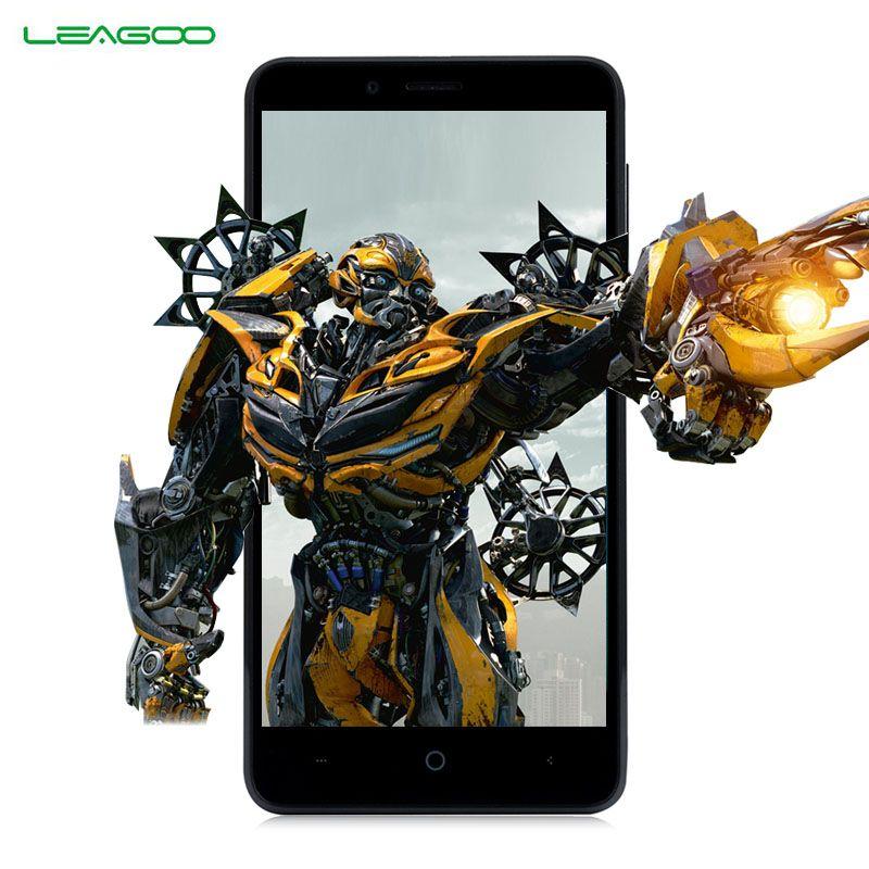Leagoo kiicaa мощность 3 г смартфон 5.0 дюймов Android 7.0 MTK6580A 4 ядра Оперативная память 2 ГБ Встроенная память 16 ГБ 4000 мАч двойной сзади Камера мобильног...