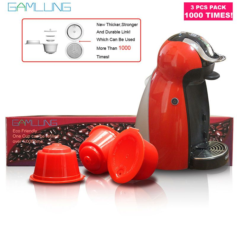 Gamlung Rechargeable Dolce Gusto café Capsule nescafé dolce gusto réutilisable capsule dolce gusto capsules UTILISER 1000 FOIS