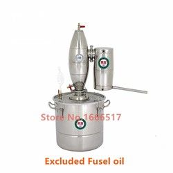 30L Alcohol Stainless Distiller Home Brew Kit Moonshine Still Wine Making Boiler Brand new RH