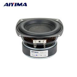 Aiyima 1PC 4 inch Hi-Fi 8ohm Subwoofer Speaker Audio Super Bass Woofer Loudspeaker 40W High Power